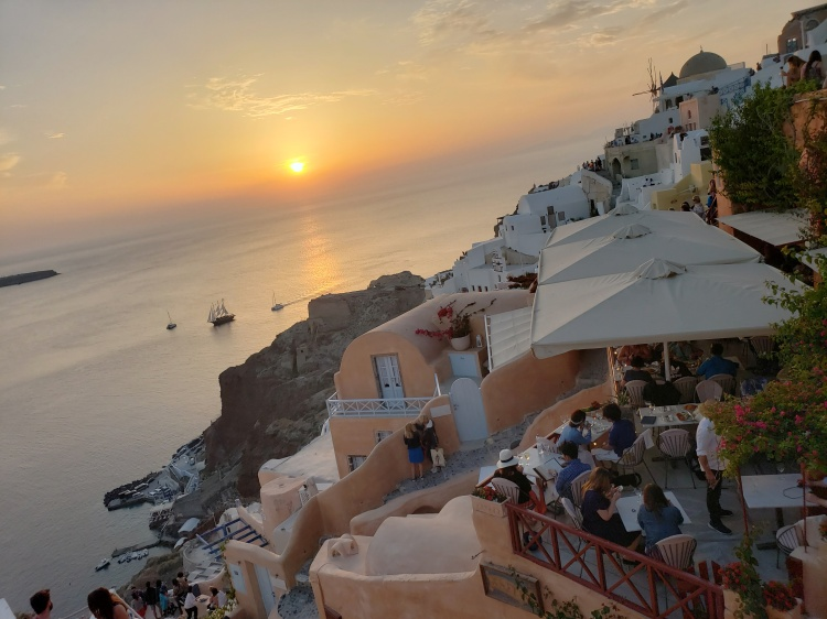 A Santorini Sunset